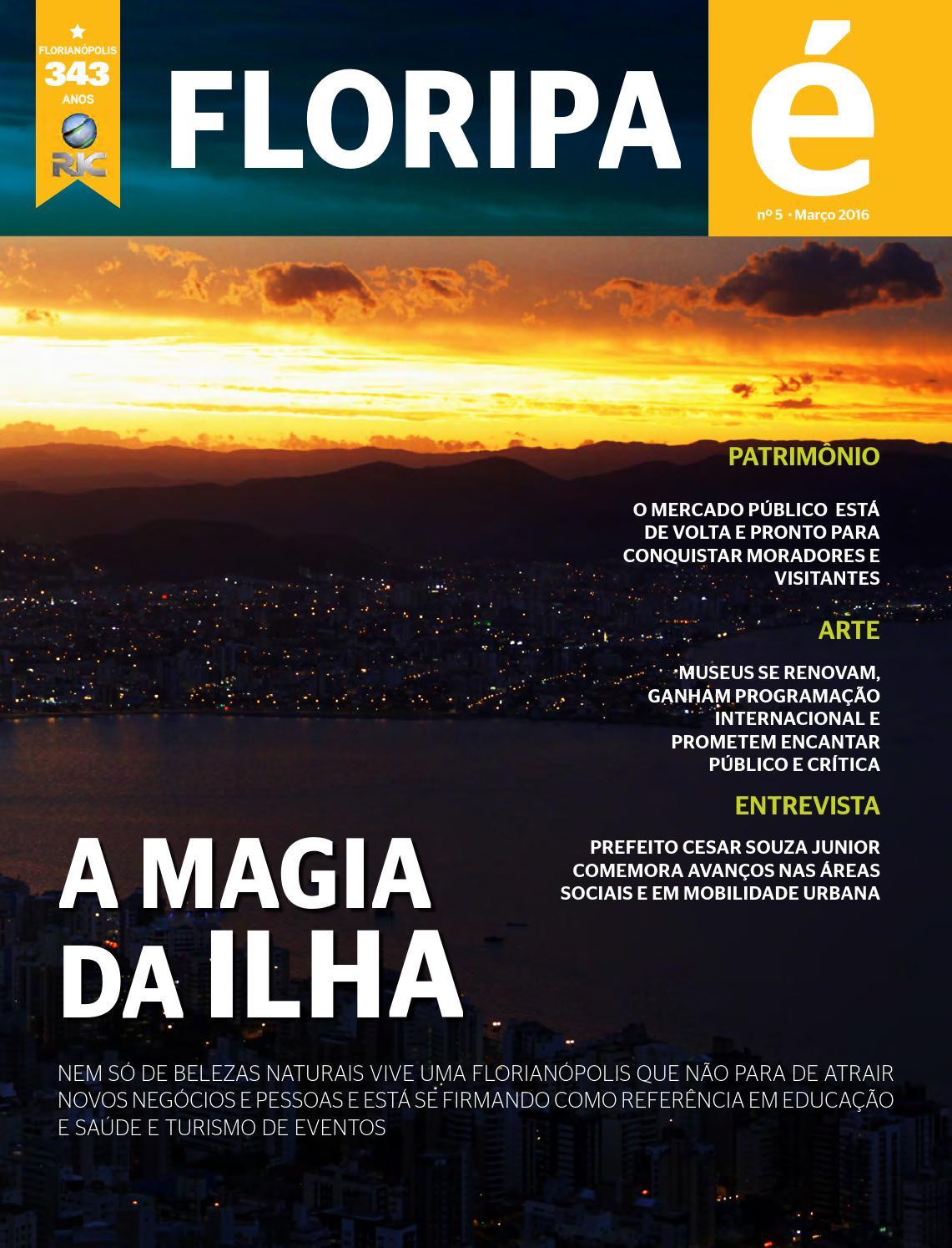 Floripa é baixa by RICTV Record Santa Catarina (RICTV Record) - issuu d7aa196e763cf