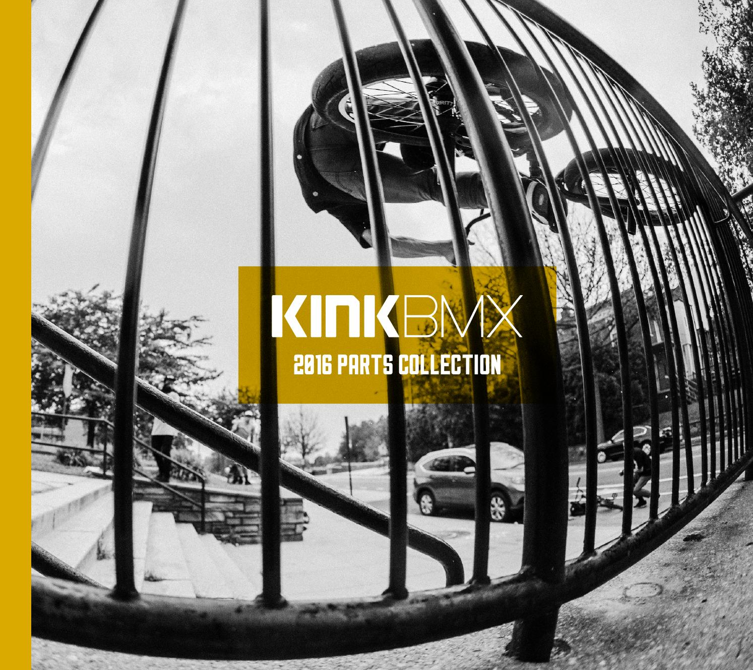 25.4mm x 330mm Kink BMX Large Stealth Pivotal Seat Post Matte Black