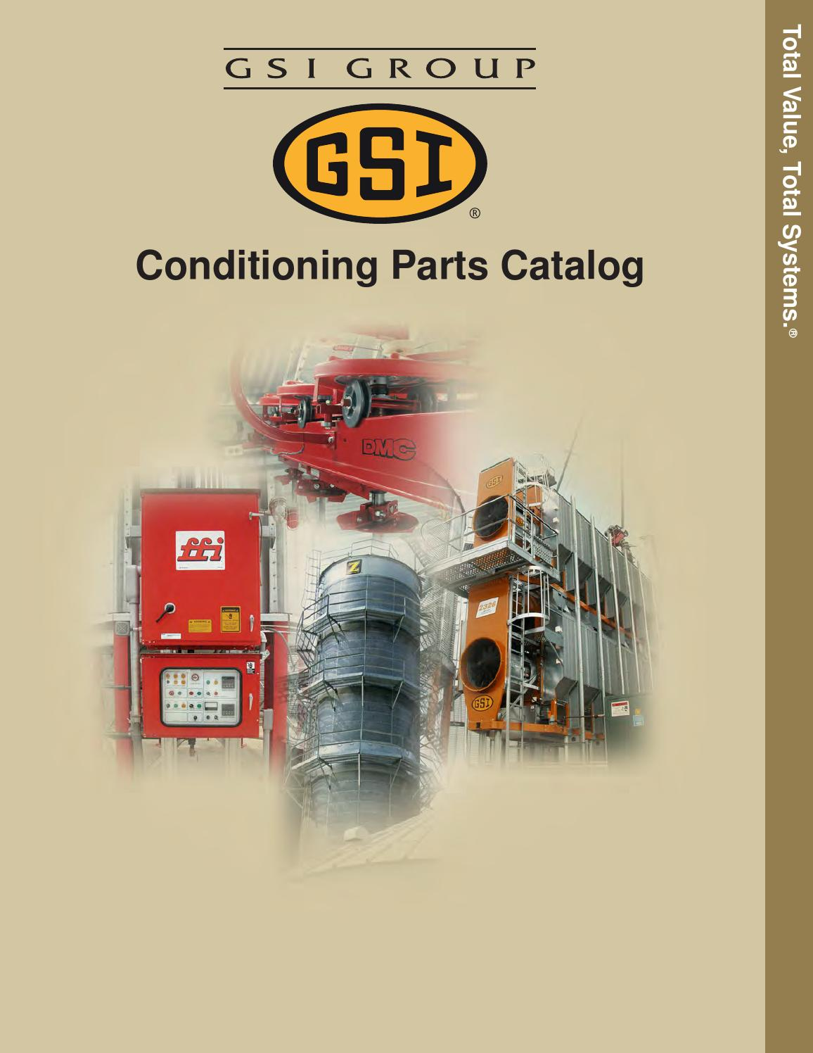 GSI Conditioning Parts Catalog by Stutsmans - issuu on