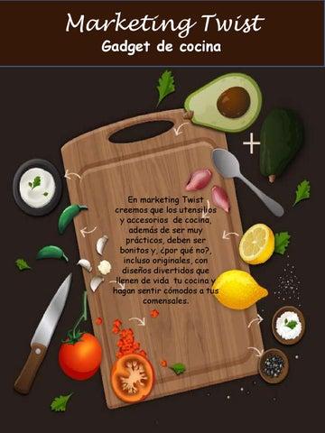 Cocina twist by cindy cuentas issuu for Gadgets cocina originales