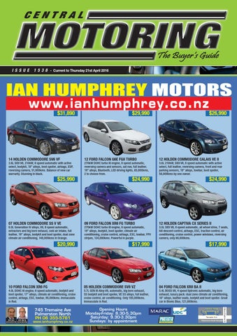 central motoring the buyers guide issue 1538 by dave smithers issuu rh issuu com