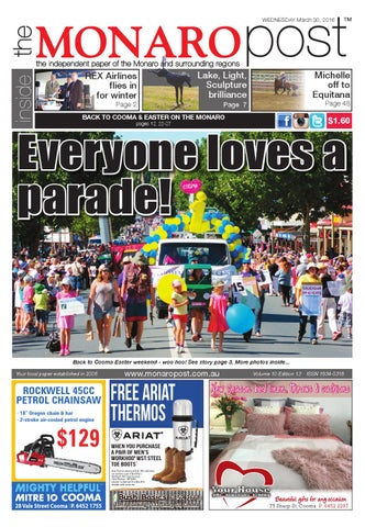 The monaro post march 30 2016 by monaro post issuu page 1 fandeluxe Gallery