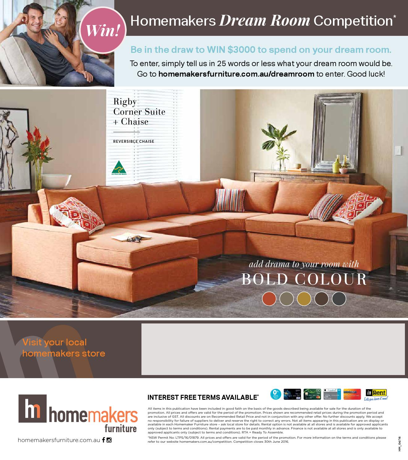 Homemakers furniture autumn collection catalogue by for Homemakers furniture nsw