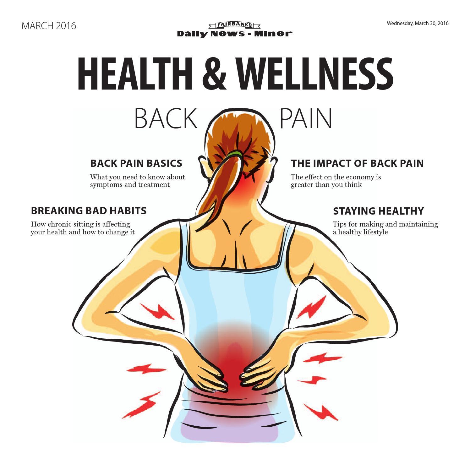 9ae1ab9fc0 Health   Wellness - Back Pain by Fairbanks Daily News-Miner - issuu