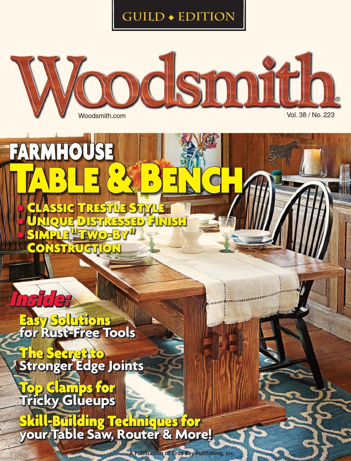 Woodsmith 223 By Cw3 Ret Wade Issuu