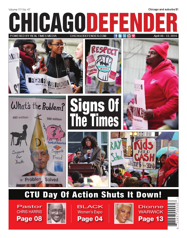 Chicago Defender 04.06.16 by ChiDefender - issuu