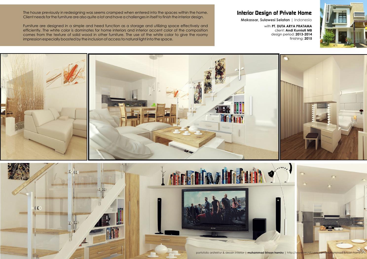 Portofolio Desain Interior