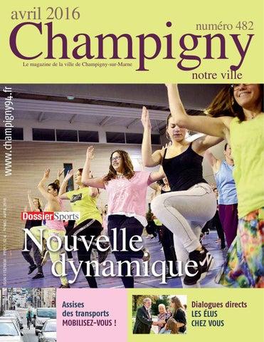 Champigny Notre Ville Avril