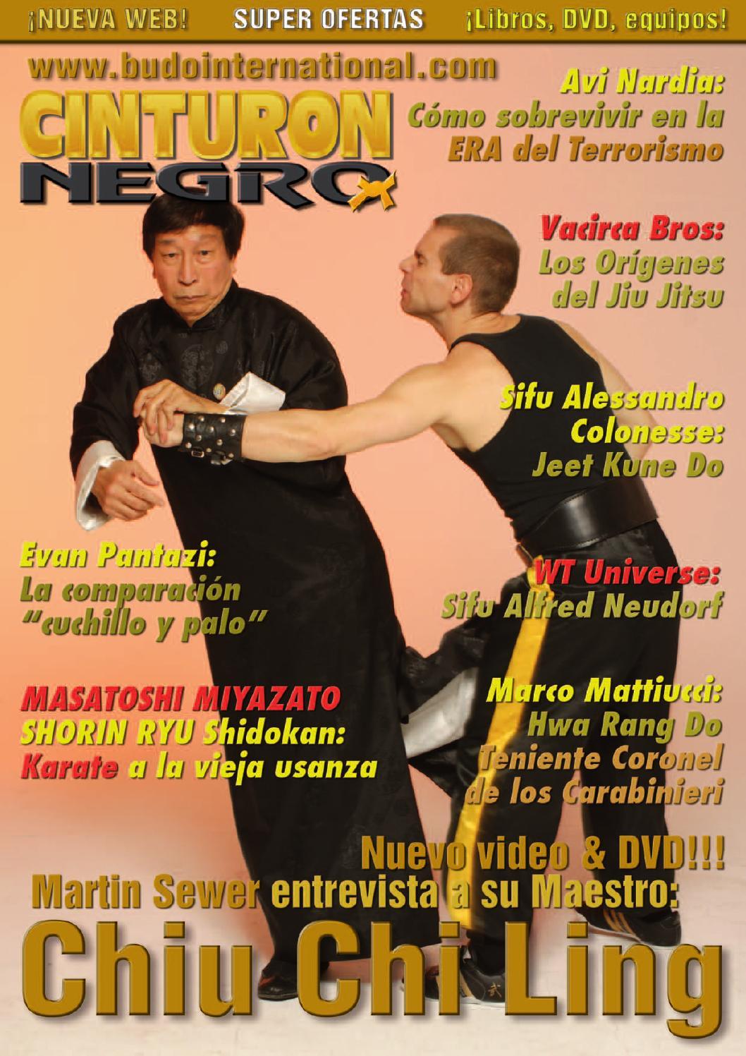 Revista Artes Marciales Cinturon Negro 309 – Abril 1 by Budo ...