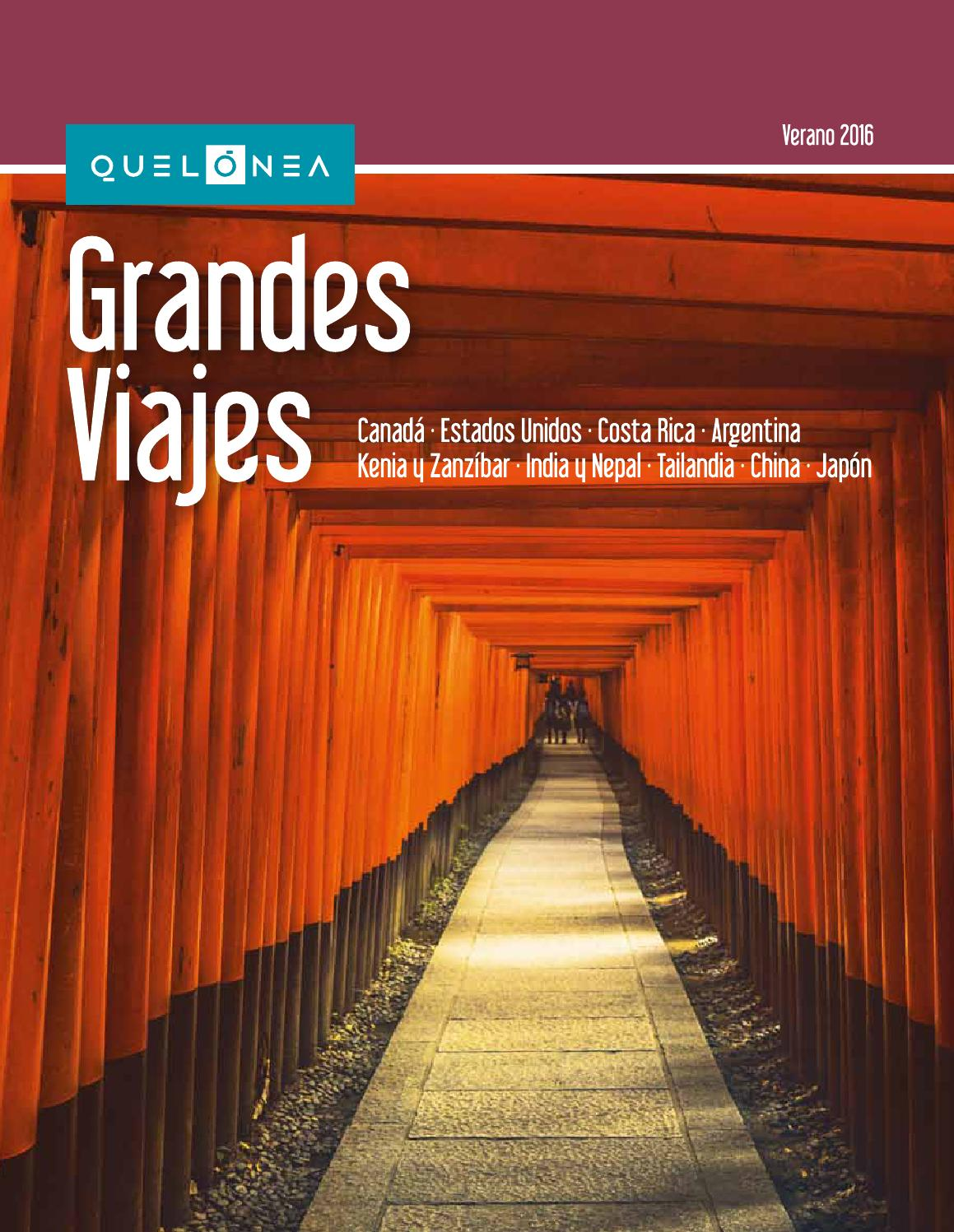 Q grandes viajes v16 original by Travelsens - issuu