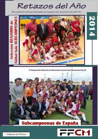 Revista 2014 definitiva by FEDERACION DE FUTBOL DE CASTILLA LA ... be4e4def515ec