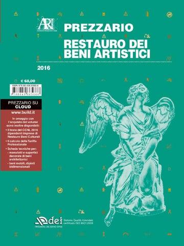 La Ragione Del Restauro.Prezzario Restauro Dei Beni Artistici 2016 By Dei Tipografia Del