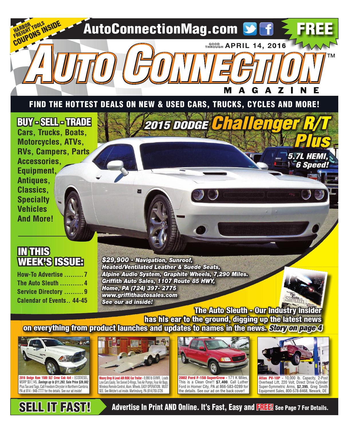 04-07-16 Auto Connection Magazine by Auto Connection Magazine - issuu