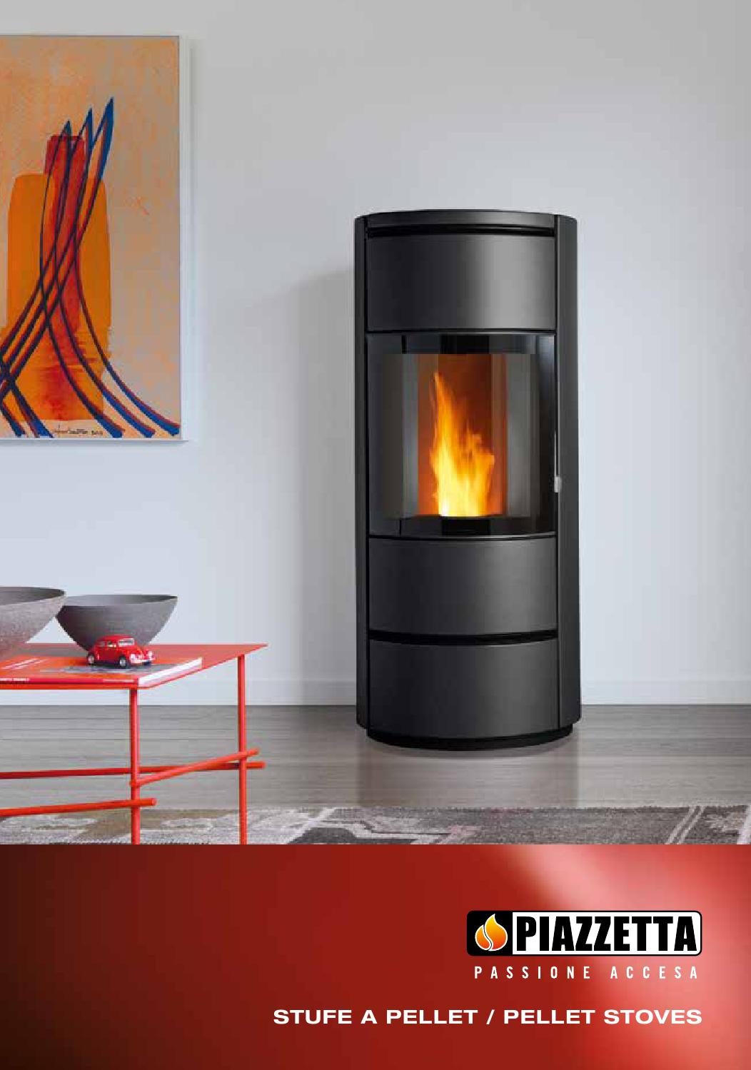 Piazzetta stufe a pellet 2015 by idea studio caminetti - Stufe per riscaldare casa ...