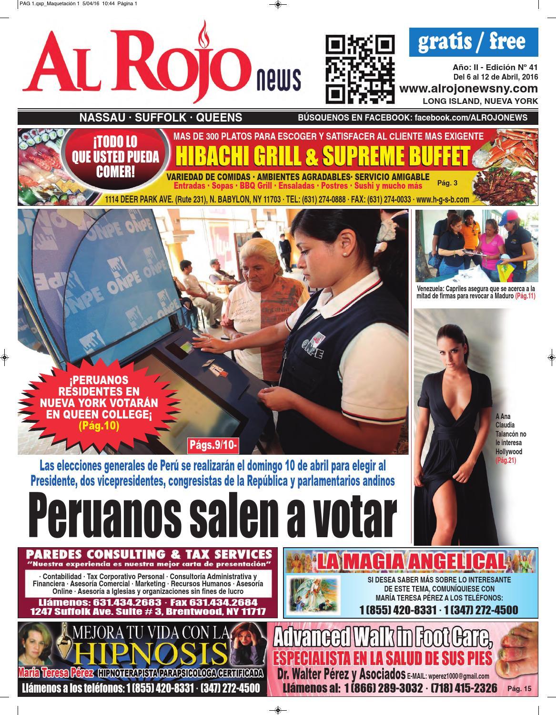 Al Rojo News AÑO II - edición 41 by Jose Rivas - issuu