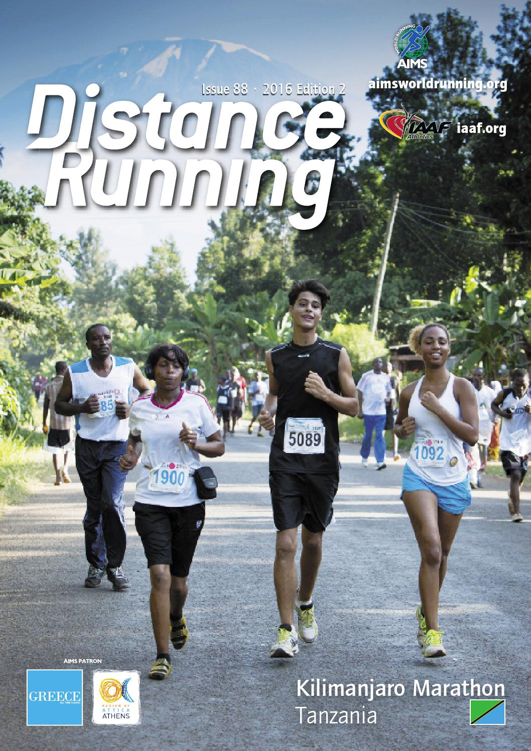 3c9c67a5b Distance Running Edition 2 2016 by Distance Running - issuu