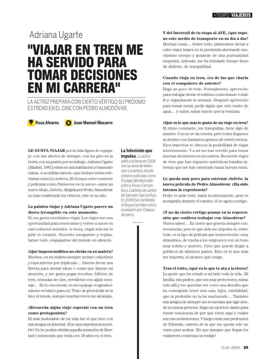 Adriana Ugarte Castillos De Carton club renfe nº1factoría prisa noticias - issuu