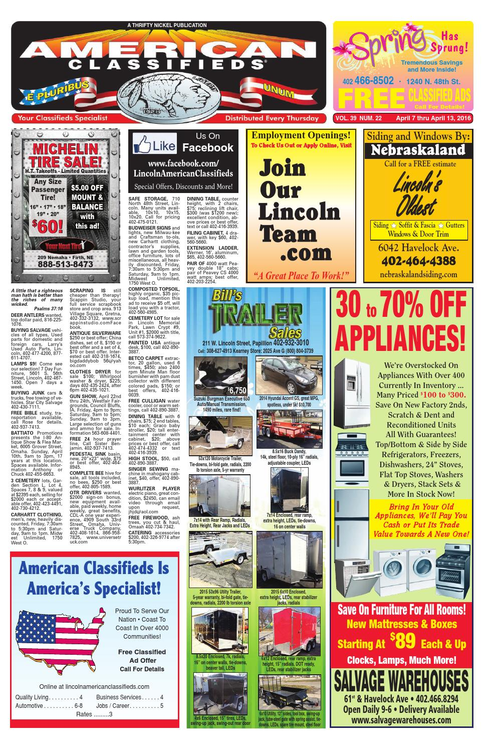 Lincoln American Classifieds By American Classifieds Omaha