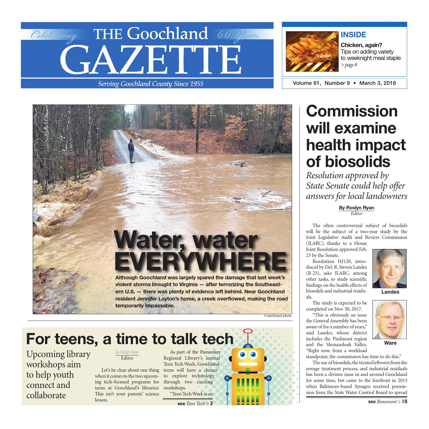 03 03 2016 by Goochland Gazette issuu
