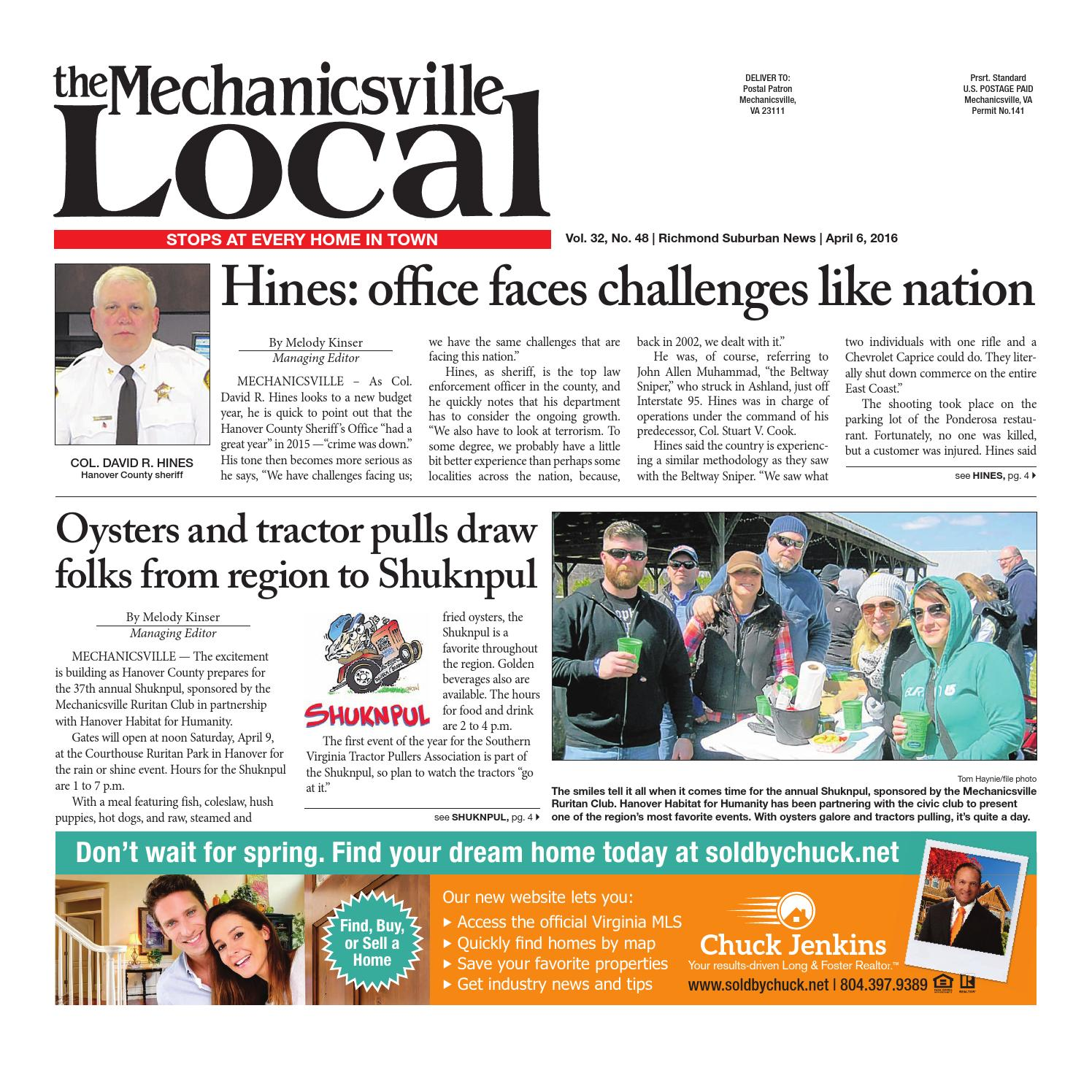 040616 by the mechanicsville local issuu fandeluxe Gallery