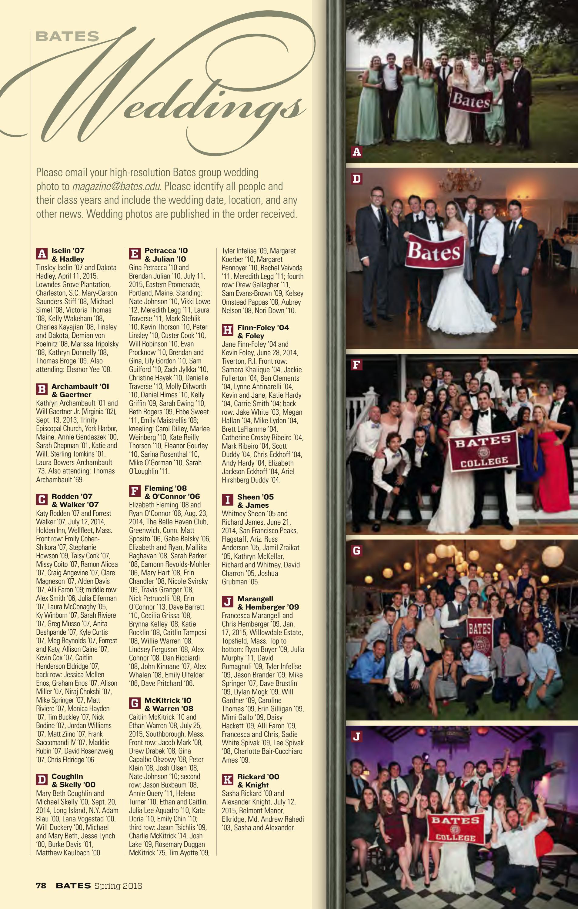 Bates magazine, Spring 2016 by Bates College - issuu