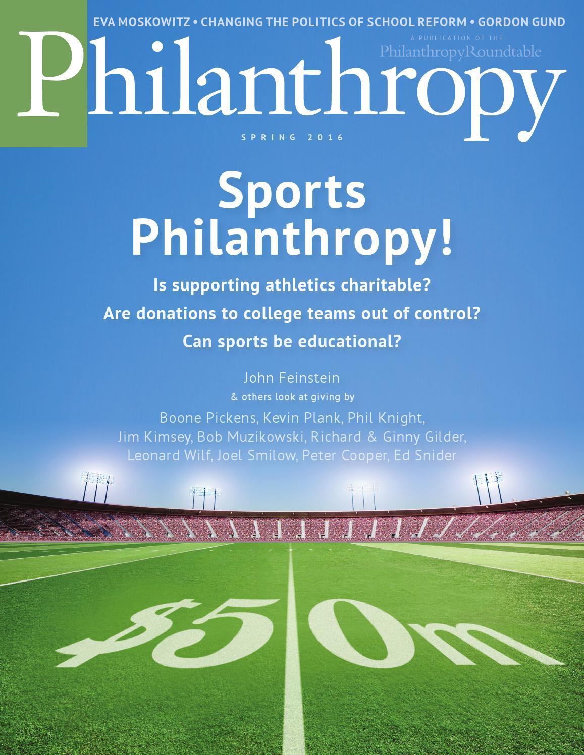 Philanthropy Spring 2016 by Philanthropy Magazine - issuu