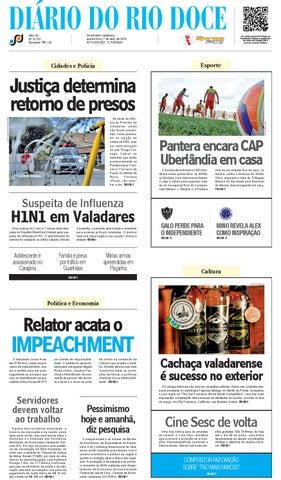 9b95aa096c6a2 Diário do Rio Doce - Edição de 07 04 2016 by Diário do Rio Doce - issuu