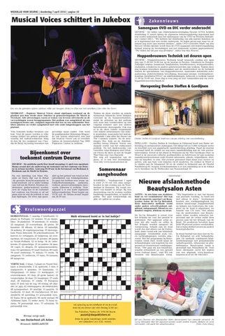 Weekblad voor Deurne wk14 2016 by Das Publishers! - issuu