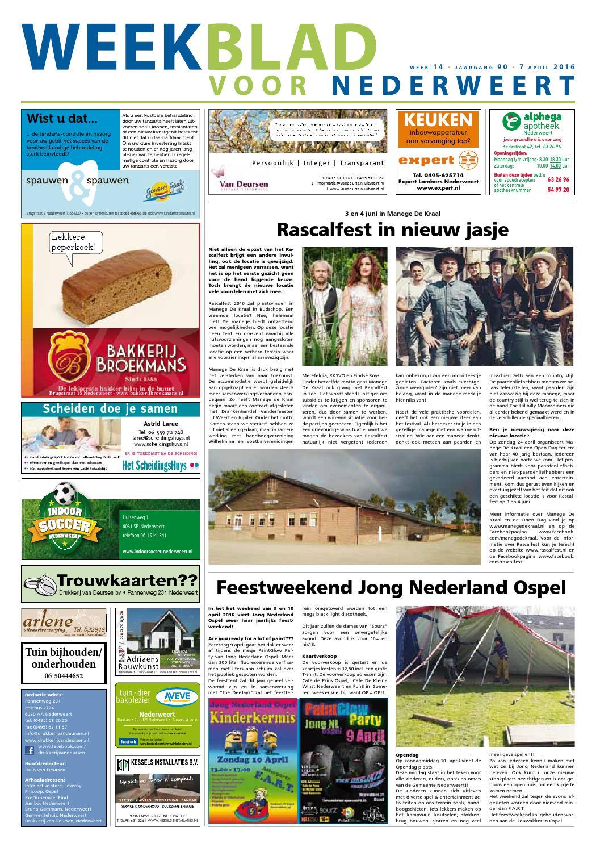 2016w14 by Nederweert24 issuu