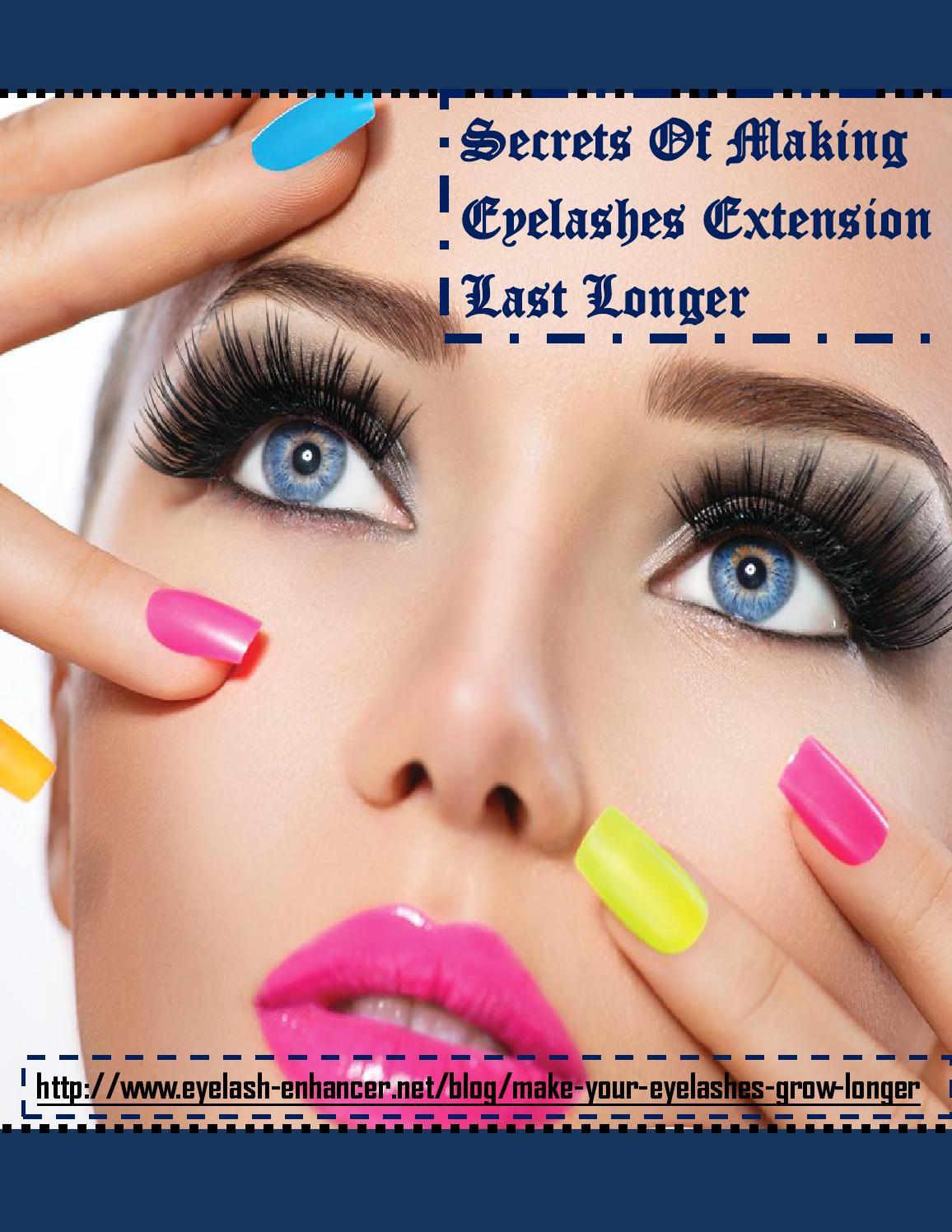 How To Make Your Eyelashes Grow Longer Naturally By Eyalash Enhancer