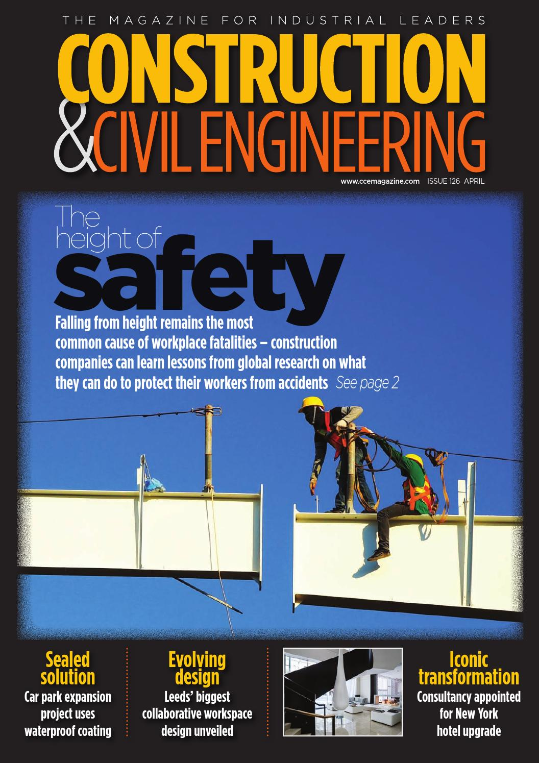 construction  u0026 civil engineering issue 126 april 2016 by