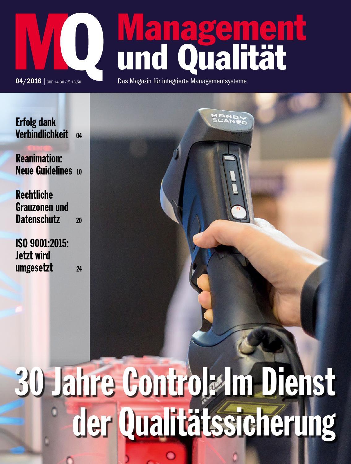MQ Management und Qualität by SAQ Swiss Association for Quality - issuu
