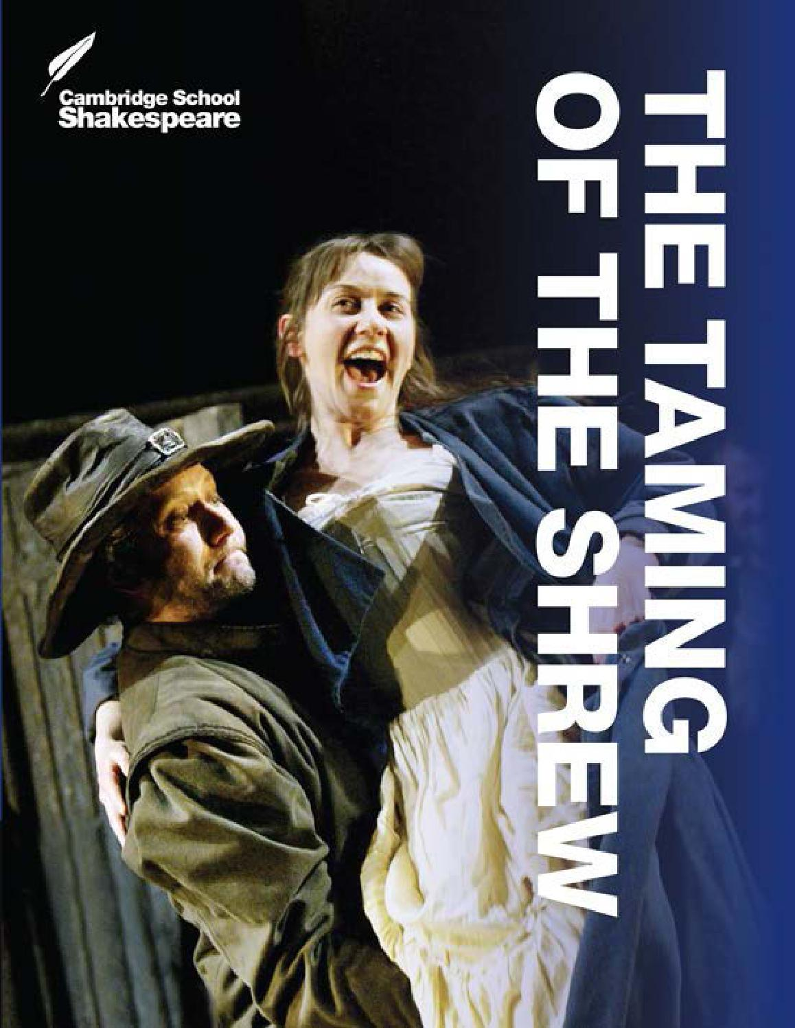 The Taming Of The Shrew Repro Film POSTER