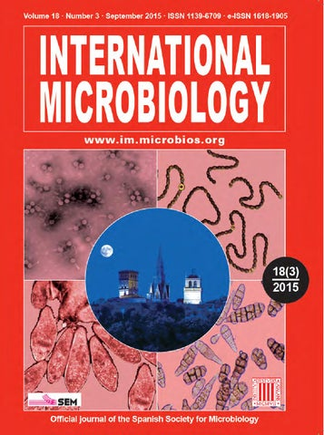 International Microbiology by Institut d'Estudis Catalans - issuu