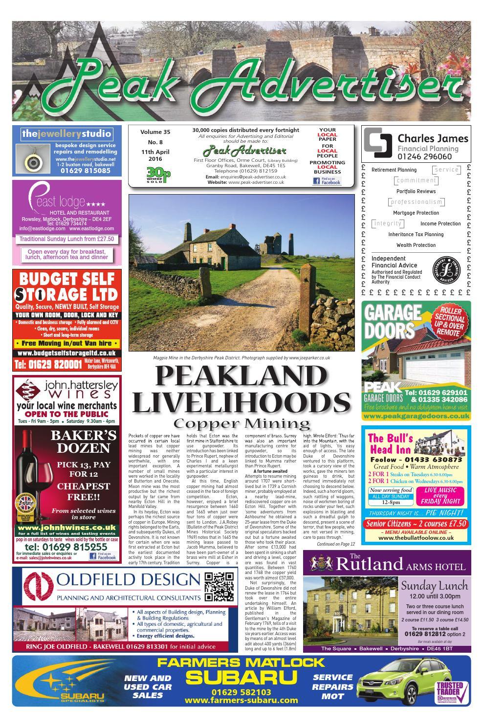 977298095 The Peak Advertiser 11.4.16 by Peak Advertiser - issuu