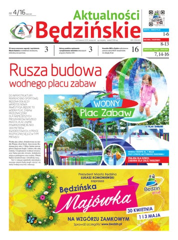 1bbe32e6e0 Aktualności Będzińskie - kwiecień 2016 by Bedzin - issuu