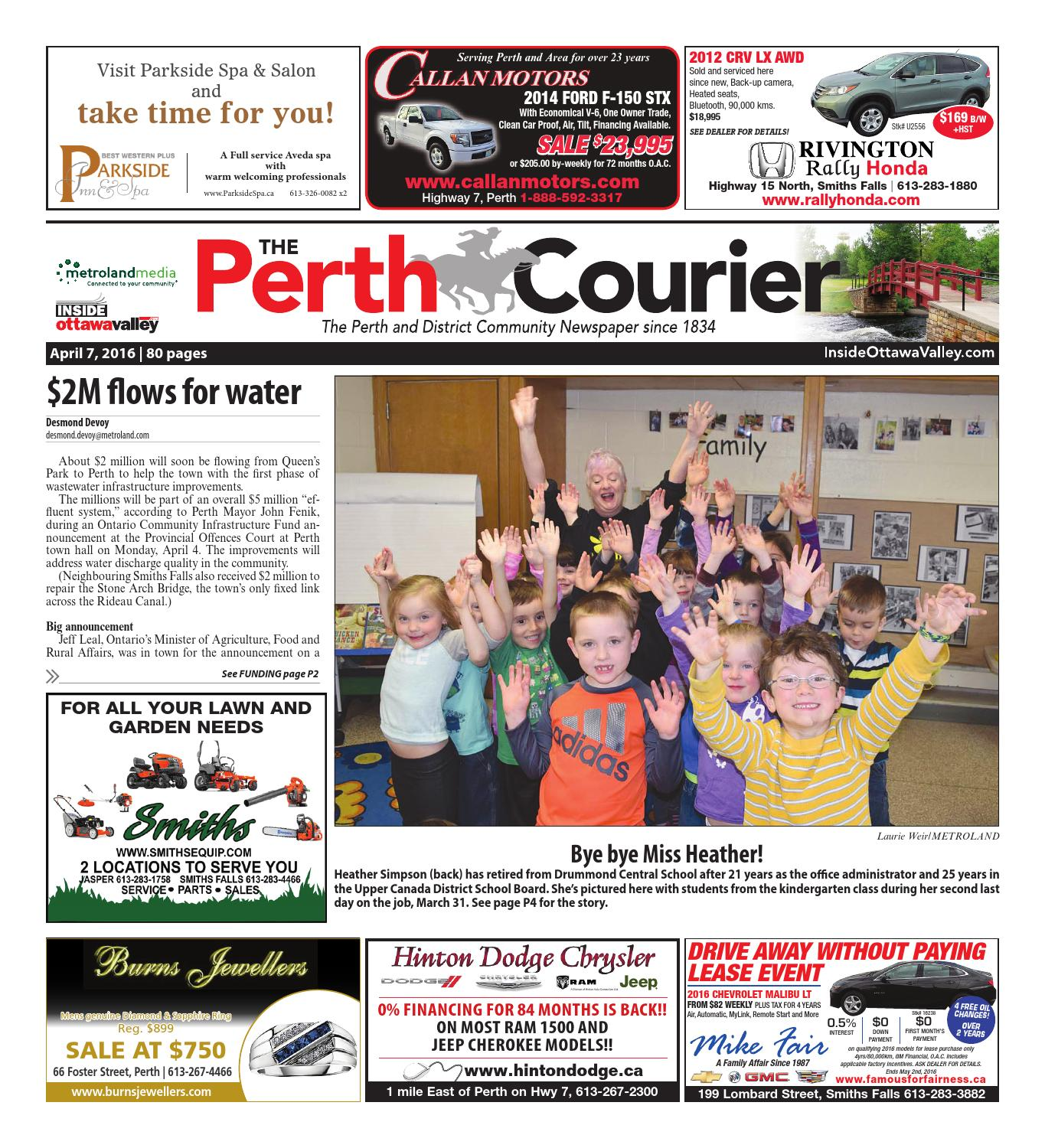 Perth040716 by metroland east the perth courier issuu fandeluxe Images