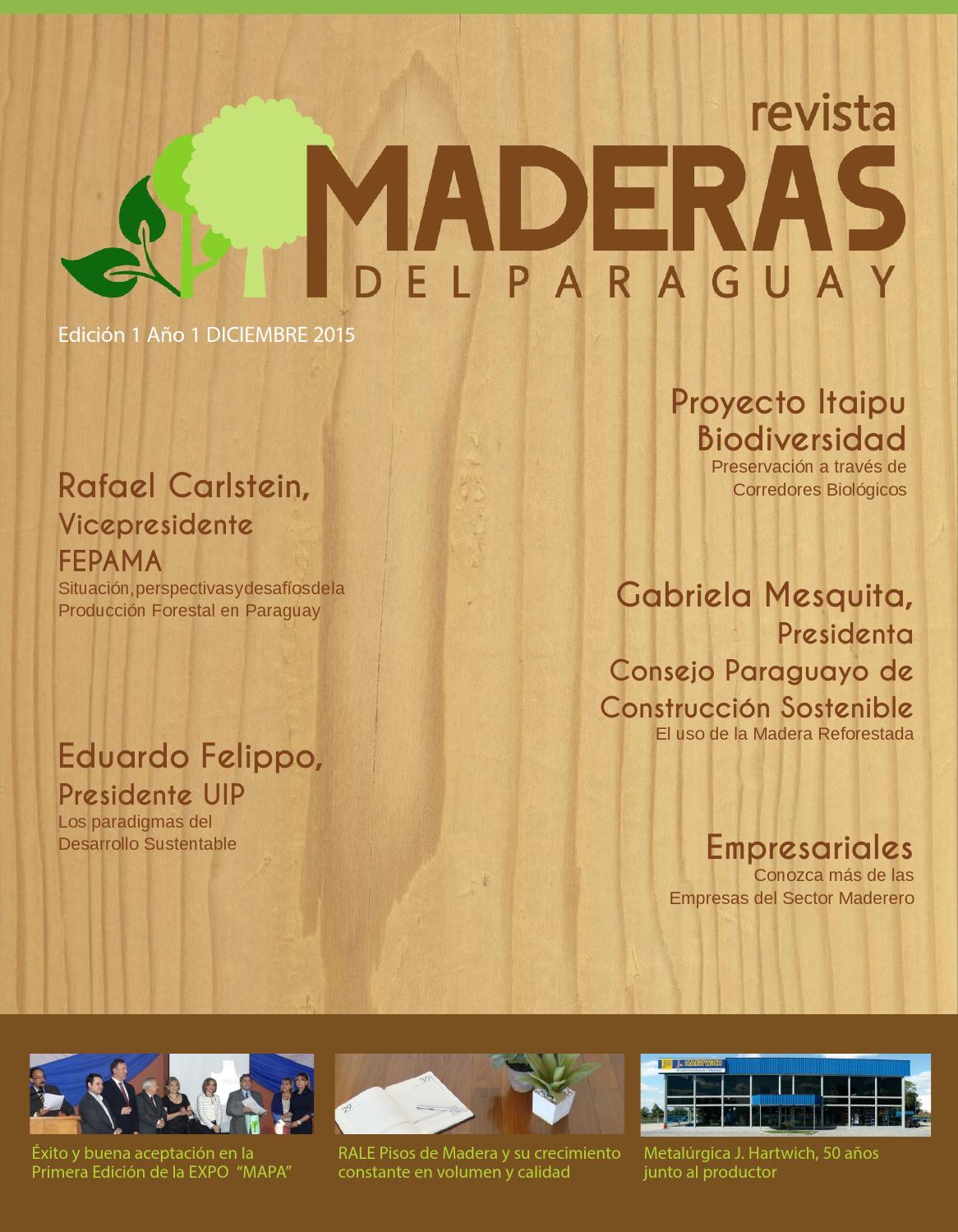Revista maderas by hugo irala issuu for Muebles irala