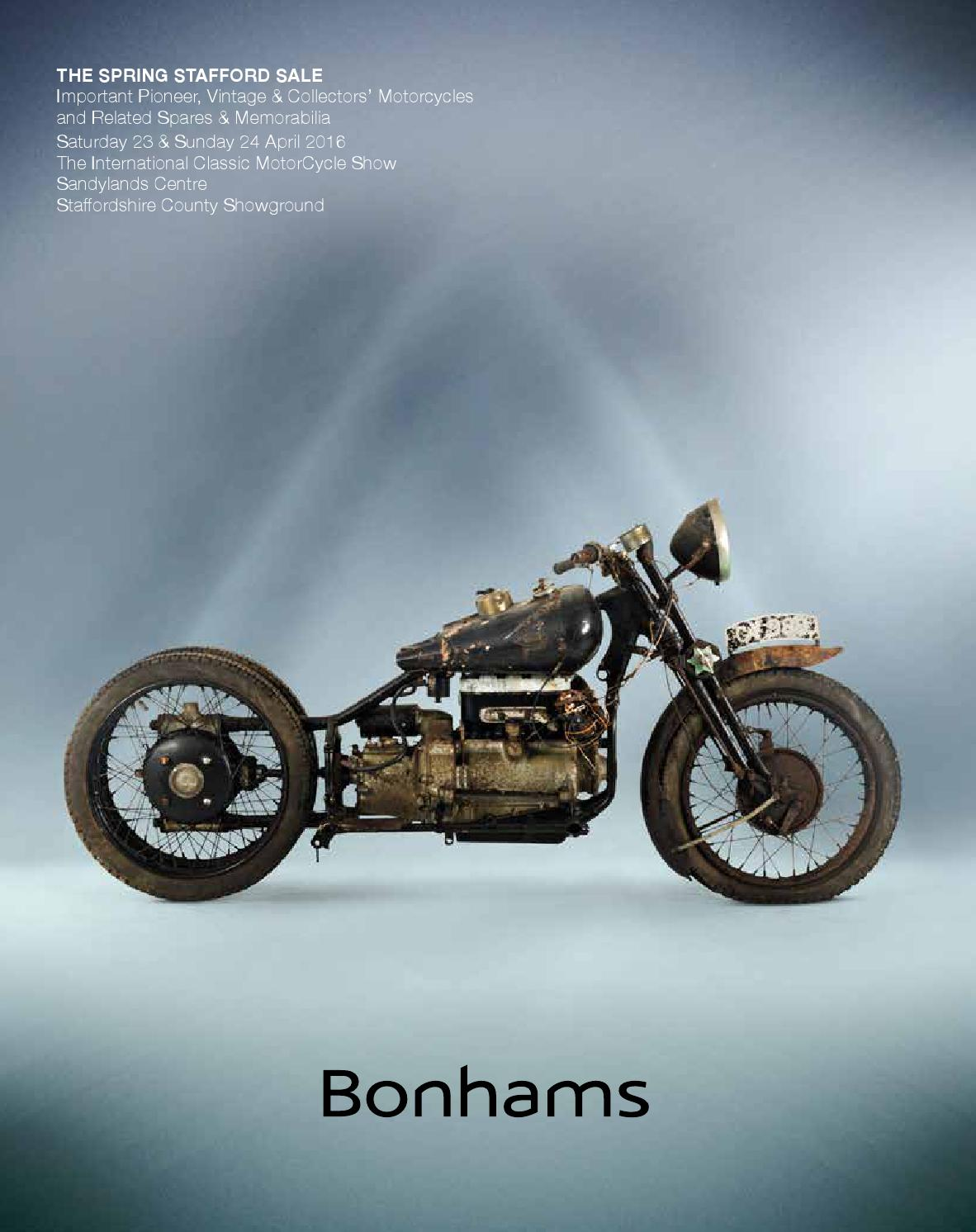 Bonhams Spring Stafford Sale By Mortons Media Group Ltd Issuu Wiring Harnesses For The Moto Guzzi 850 T3 California
