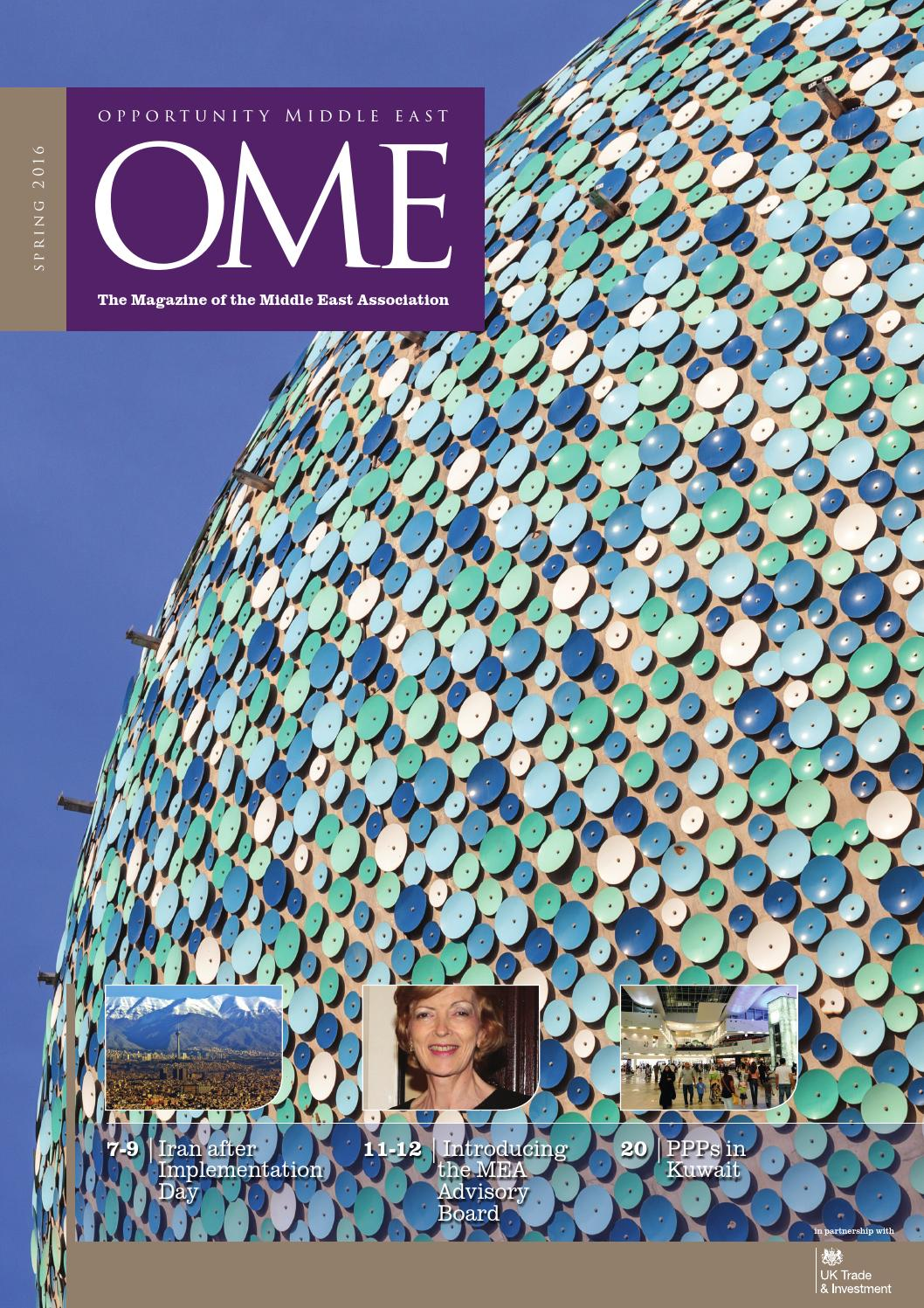 OME | Opportunity Middle East – Spring 2016 by Global Opportunity ...