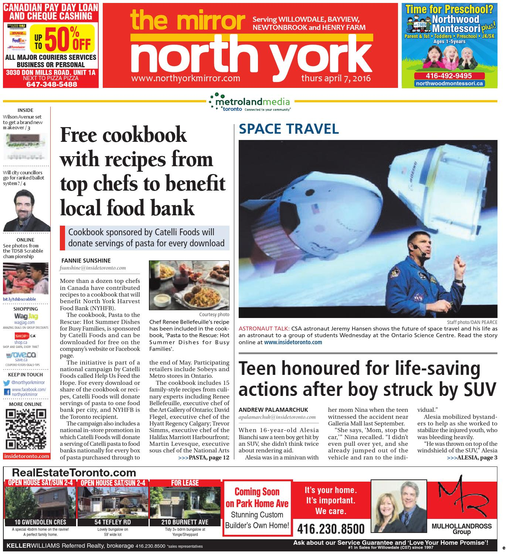 The North York Mirror East April 07 2016 By Palomino Oshara Handbag Black Issuu