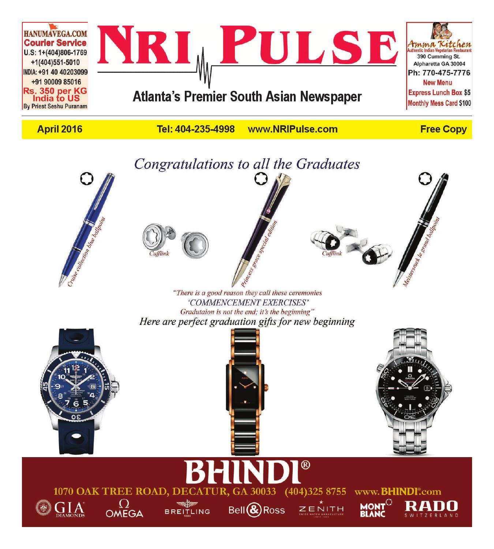 NRI Pulse April 2016 Print Issue by NRI Pulse - issuu