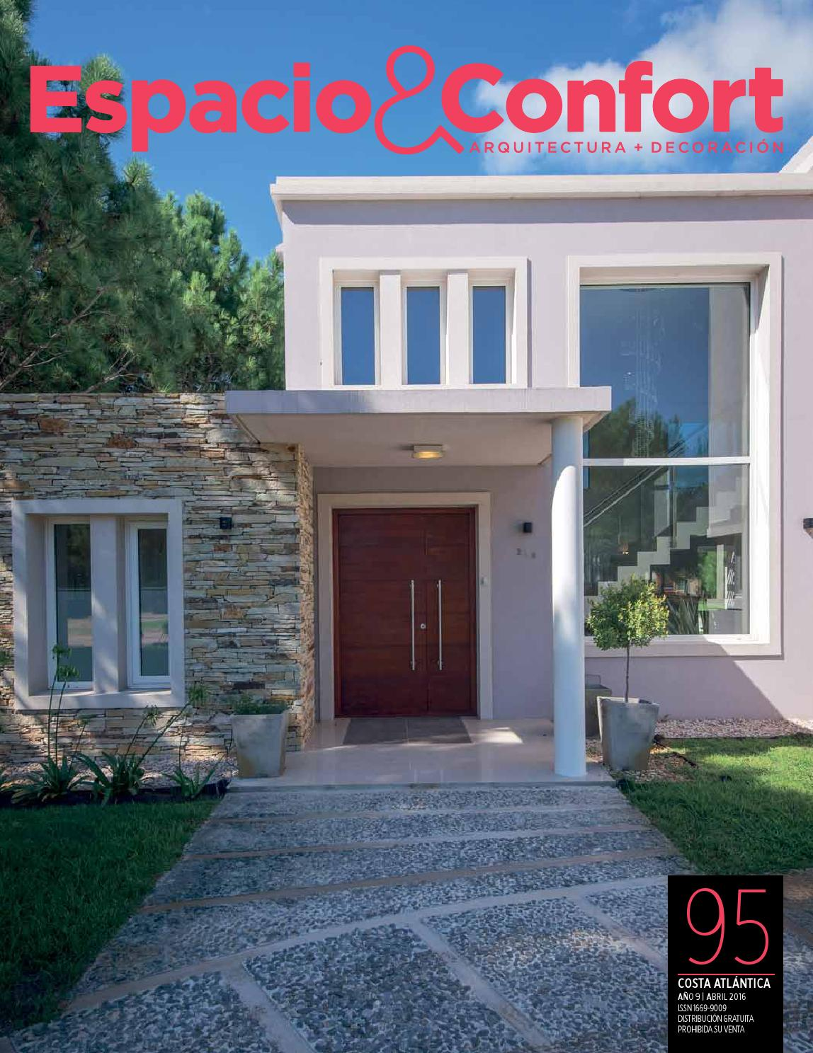 95 Costa Abril 16 By Revista Espacio Confort Arquitectura  # Muebles Luberto Mdp