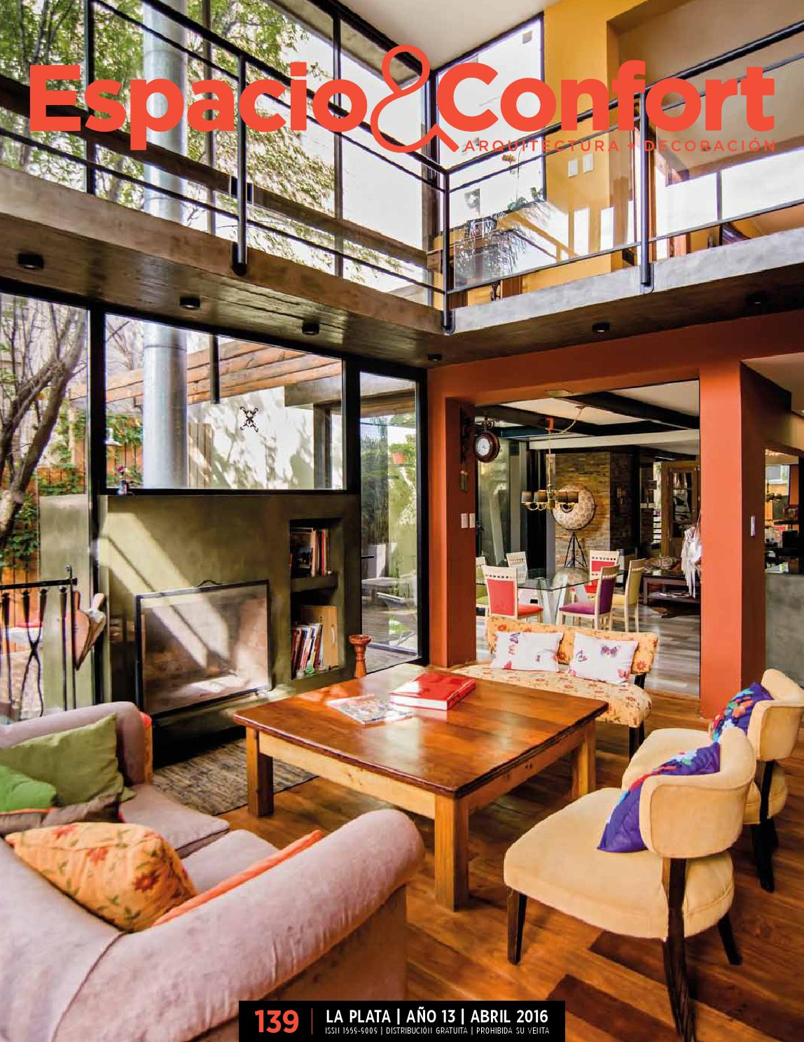 139 Lp Abril By Revista Espacio Confort Arquitectura  # Muebles Peaje Hudson