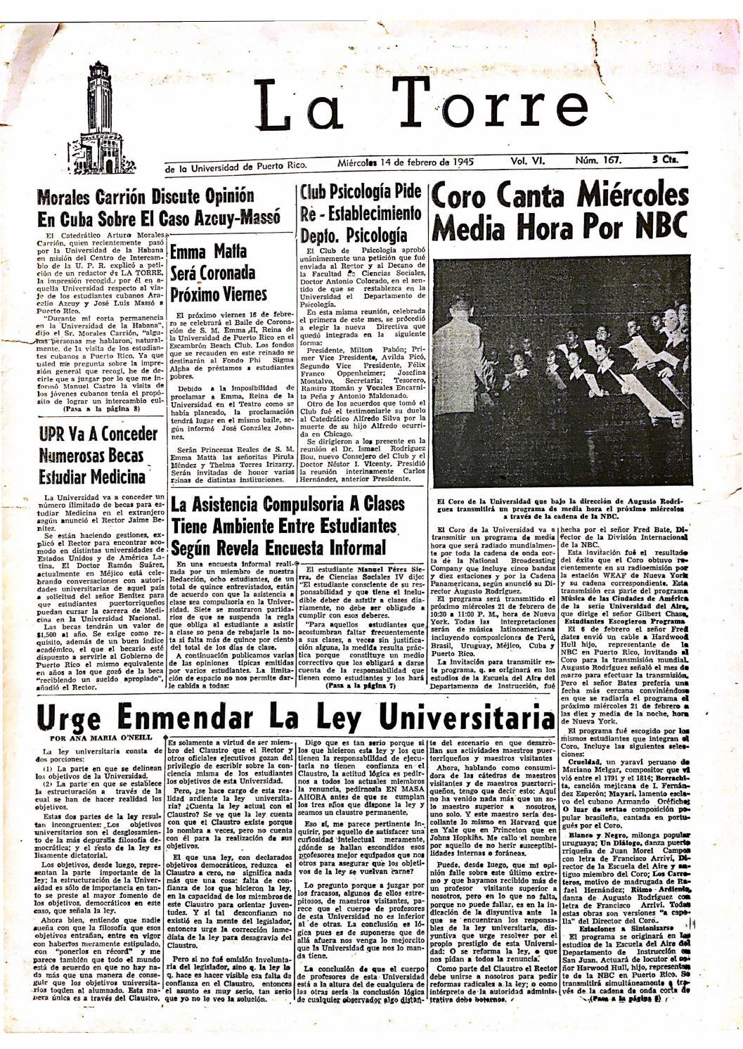 La Torre by Colección Puertorriqueña UPR RP - issuu