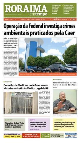 97f0277f17 Jornal roraima em tempo – edição 303 – período de visualização ...