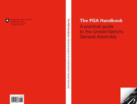 The PGA Handbook: A practical guide to the United Nations