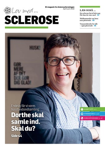 c0f180fcc919 Lev med Sclerose April 2016 by Scleroseforeningen - issuu