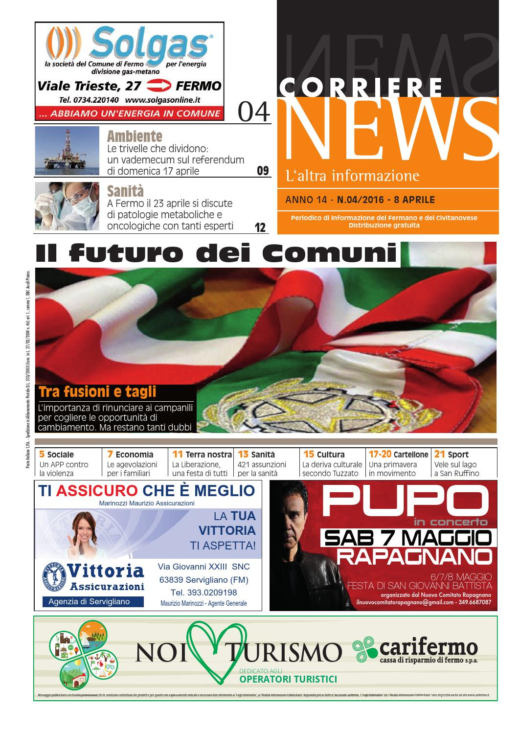 CORRIERE NEWS APRILE 2016 by Corriere News - issuu b1e915d2797