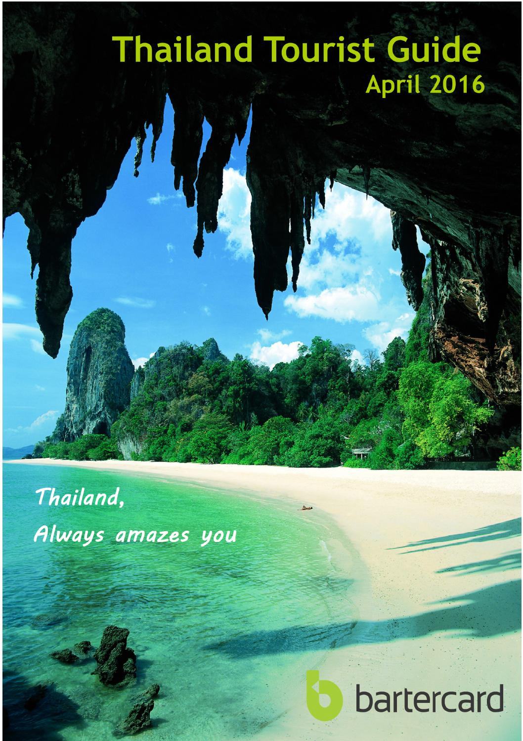Thailand Travel Guide April 2016 By